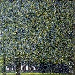 Der Park, 1910, New York, Museum of Modern Art.