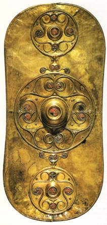 Battersea Shield, celtic, c. 450 BC, London, British Museum.
