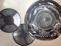 Silver bowls, Constantinople, early 7th c.