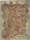 Monogram of Christ (Chi Ro), Book of Kells, c. 800, Dublin, National Library of Ireland.