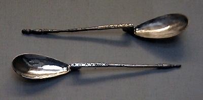 Silver spoons, Constantinople, 3rd c.