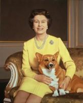 Michael Leonard, HM Queen Elizabeth II, 1986, London, National Portrait Gallery