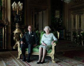 Thomas Struth, The Queen and the Duke of Edinburgh, 2011.