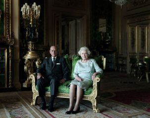 Thomas Struth, The Queen and the Duke of Edinburgh, 2011.