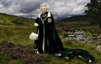 Julian Calder, Queen of Scots, Sovereign of The Most Ancient and Most Noble Order of The Thistle and Chief of The Chiefs, 2013