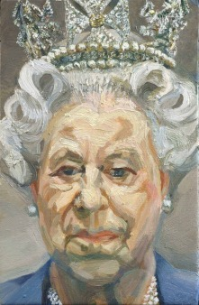 Lucian Freud, Her Majesty Queen Elizabeth II, 2001, Royal Collection.