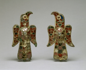 Pair of Visigothic Eagle Fibulae. 7th c.. Baltimore, Walters Art Gallery.