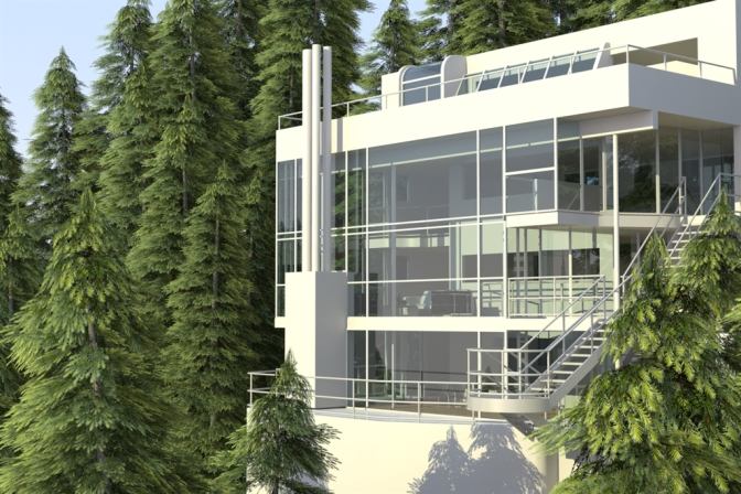 <b>THE MODERN HOUSE I:</b> Richard Meier's Douglas House