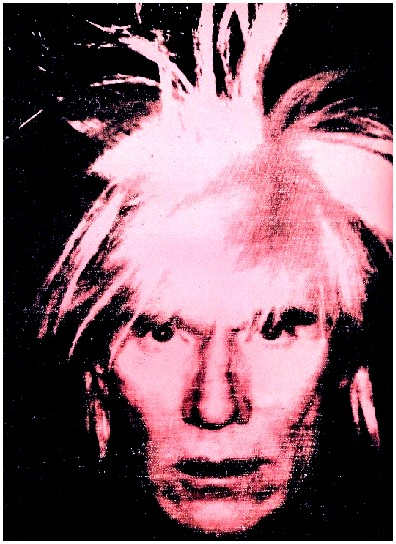 Andy Warhol, Self Portrait, 1986