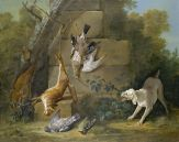 Jean-Baptiste Oudry, Dog Mistaking Dead Game for Live Animals, 1753