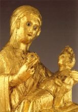 Golden Madonna, c. 970, Essen, Cathedral Treasury