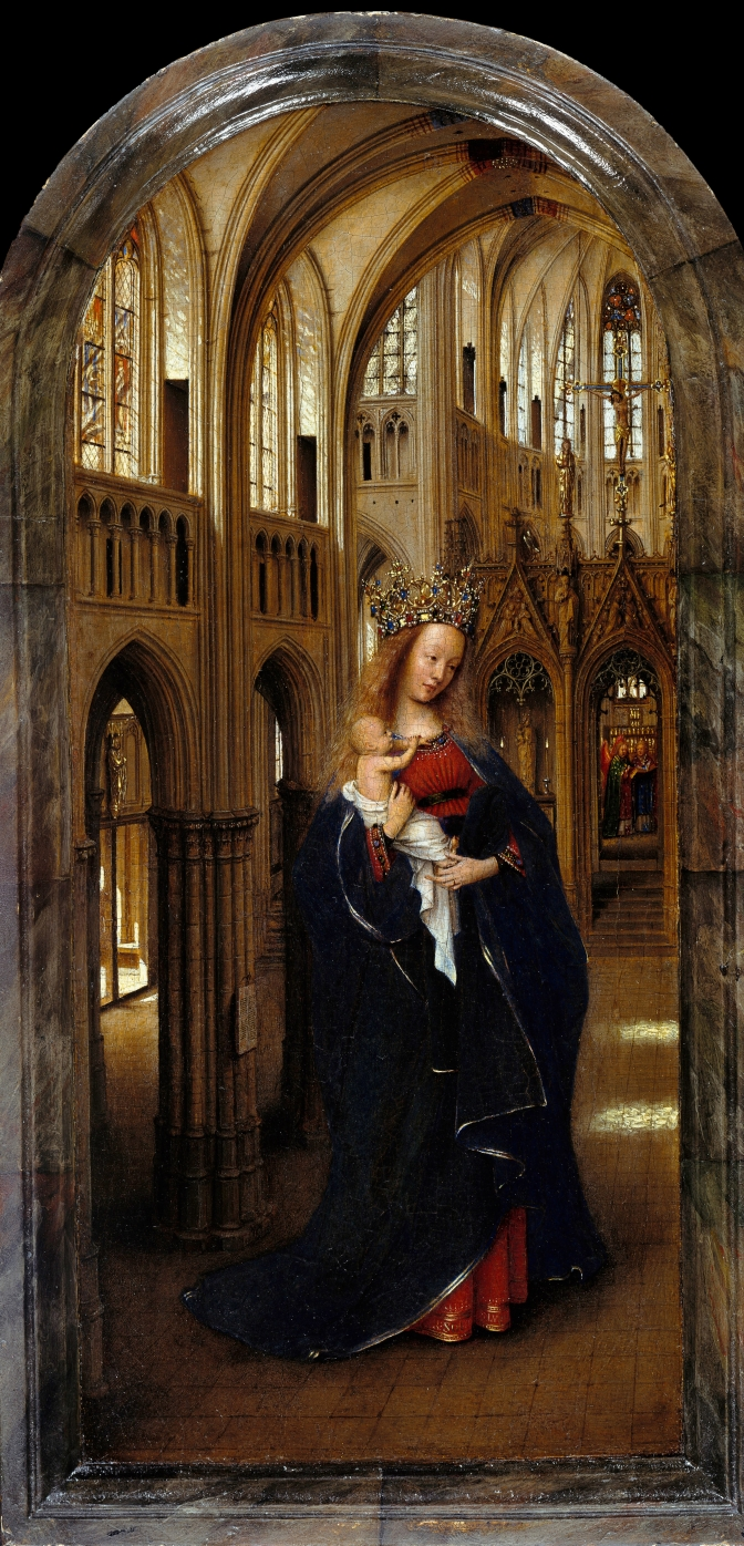 <b>FICTIVE ECCLESIASTICAL ARCHITECTURE IN EARLY NETHERLANDISH ART</b>