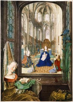 The Hours of Mary of Burgundy, c. 1475, Vienna, Österreichische Nationalbibliotek, Cod. Vind. 1857, 14v-15r.