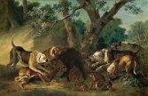 ean-Baptiste Oudry, La Laie et ses marcassins attaqués par des dogues, 1748, Caen, Musée des Beaux Arts.