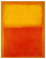 Mark Rothko, Untitled (Orange and Yellow), 1956, Buffalo, Albright-Knox Art Gallery.