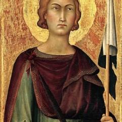 Simone Martini, Saint Ansanus, ca.1325-1335, New York, Metropolitan Museum of Art.