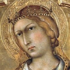 Simone Martini, St Catherine of Alexandria, Polyptych, 1319, Pisa, Museo Nazionale di San Matteo