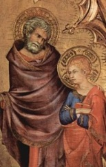 Simone Martini, Christ Discovered in the Temple, 1342, Liverpool, Walker Art Gallery