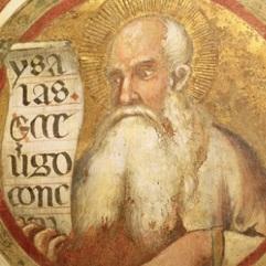 Simone Martini, Prophet Isaiah, Maestà, 1315, Siena, Palazzo Pubblico.