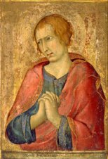 imone Martini, Saint John the Evangelist, 1320, Birmingham, The Barber Institute of Fine Arts, University of Birmingham