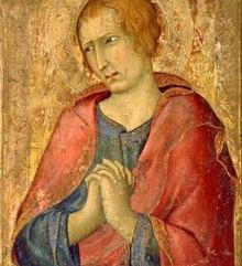 imone Martini, Saint John the Evangelist, 1320, Birmingham, The Barber Institute of Fine Arts, University of Birmingham