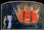 Simon Marmion, The Visions of Tondal, c. 1470, Los Angeles, J. Paul Getty Museum, MS 30.
