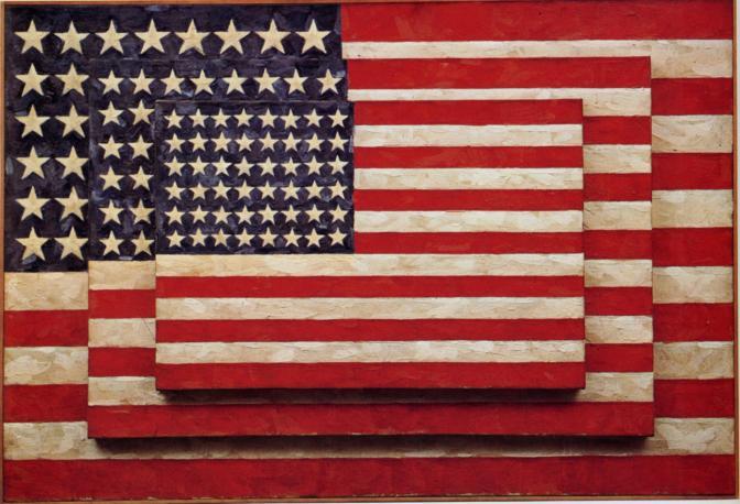 <b>POP ART AND THE COLD WAR I:</b> Jasper Johns' Flags
