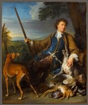 Alexandre-François Desportes Autoportrait en Chasseur 1699 Louvre)