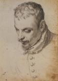 Agostino Carracci, Portrait of Annibale Carracci, c. 1590, Paris, Louvre.