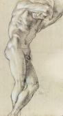 Annibale Carracci, Atlante, 1599-1600, Charcoal and chalk on paper, Paris, Louvre.