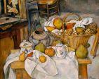 Paul Cézanne, Still Life with Fruit Basket, 1886/87, Paris, Musée d'Orsay.