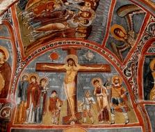 crucifixion-fresco