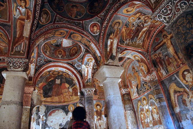 <b>AN INCOMPLETE HISTORY OF MEDIEVAL ART XII:</b> The Cave Churches of Cappadocia