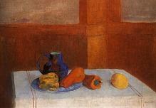 Odilon Redon, Still Life, 1901, Copenhagen, Ny Calrsbefrg