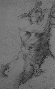 Annibale Carracci, Triton, c. 1595,