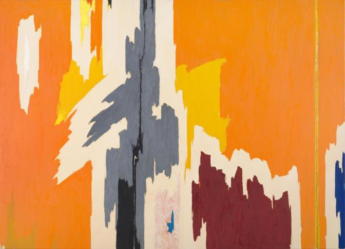 <b>THE PRAIRIE CORIOLANUS:</b> Clyfford Still