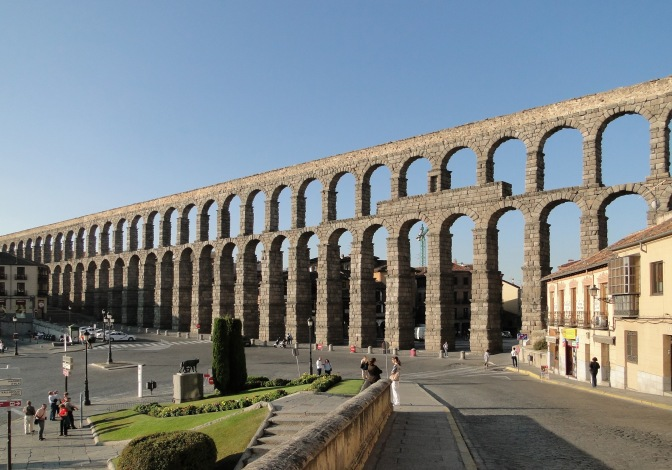 <b>ROMAN ENGINEERING I:</b> Aqueducts
