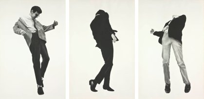 Robert Longo, Men Trapped in Ice, 1979