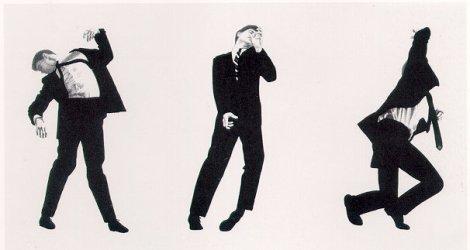 Robert Longo, Men in the Cities, 1980