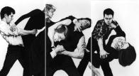 Robert Longo, Untitled (White Riot) 1982