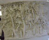 Roman soldiers making a road, Column of Trajan , A.D. 80