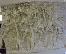 Roman soldiers making a road, Column of Trajan , A.D. 80