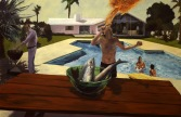 Barbecue, 1982, Collection Steve Martin.