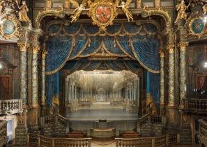 Markgräfliches Opernhaus, proscenium and stage
