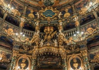 Markgräfliches Opernhaus, royal loge