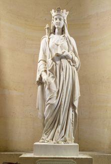 Blanche de Castile, 1842, Versailles, Musée du Château