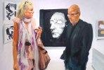 Death Mask Booth 13 Art Fair, 2014
