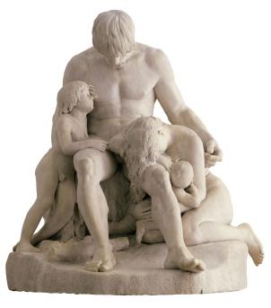 Cain et sa race maudite, 1833/38, Lyon, Musée des Beaux Arts