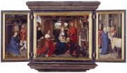 Hans Memling, Floreins Triptych, 1479, Bruges, Sint-Janshospitaal.