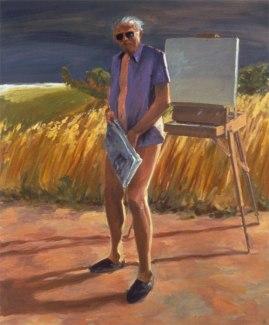 Portrait of the Artist as an Old Man 1984, San Francisco, Museum of Modern Art.